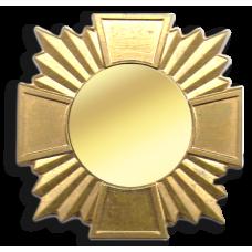 Основа штампованная в виде креста для награды или знака
