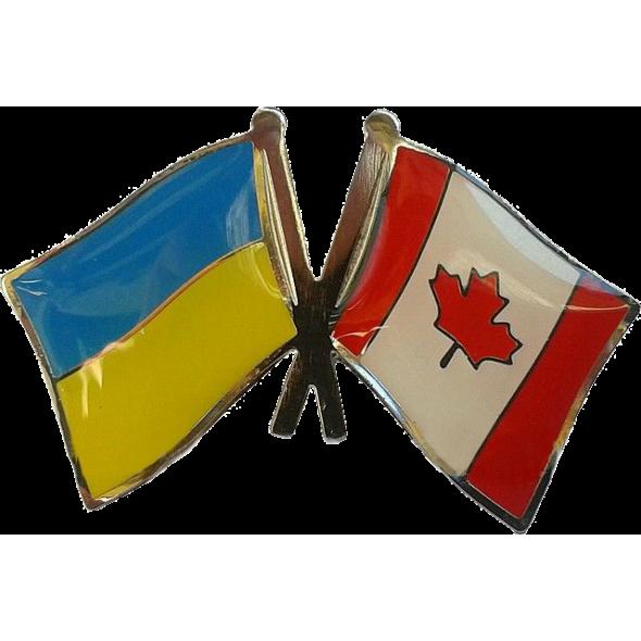 Значки Флаг Украины + флаги стран