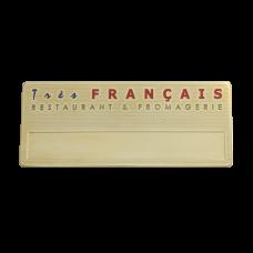 Бейдж Francais