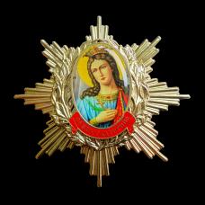 Медаль церковная с Божьей Матерью